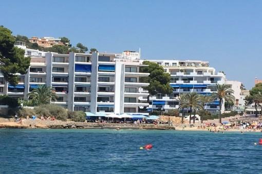 Renoviertes Erdgeschossapartment mit Zugang zum Strand von Santa Ponsa