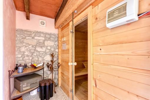 Spa mit Sauna