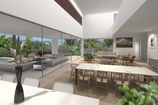 Große, moderne Neubau-Villa in Sol de Mallorca-kaufen