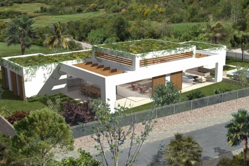 Große, moderne Neubau-Villa in Sol de Mallorca