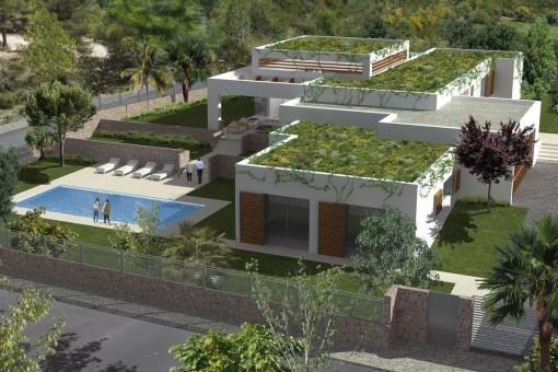Tolles Grundstück mit großem Garten und Pool