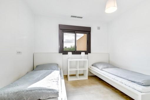 Gemütliches Zimmer mit 2 Einzelbetten