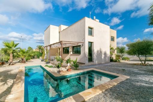 Moderne, neu renovierte Villa in Sa Torre