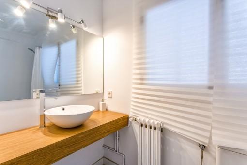 Alle Badezimmer spenden Tageslicht