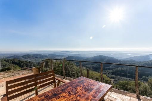 Der Balkon Mallorcas! Historisches Haus mit sensationeller Aussicht in sehr exklusiver Lage