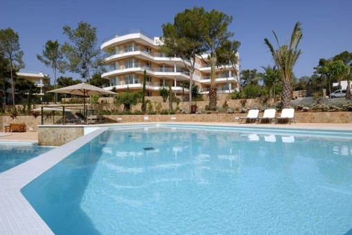 Erdgeschosswohnung in Apartmentanlage La Floresta Del Mar in Sol de Mallorca