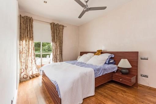 Doppelschlafzimmer mit Ventilator