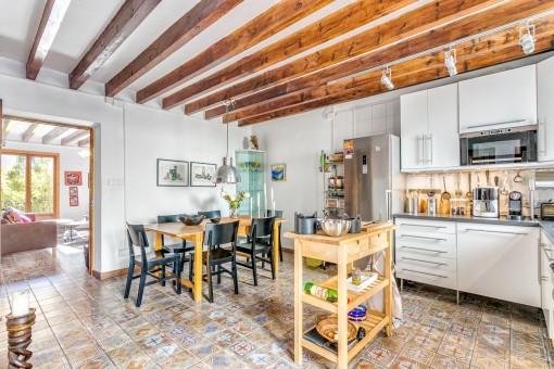 stilvolle wohnung mit 35 qm terrasse im herzen von santa catalina kaufen. Black Bedroom Furniture Sets. Home Design Ideas