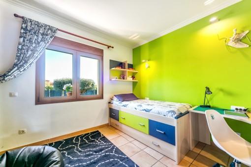 Das Haus bietet 6 Schlafzimmer