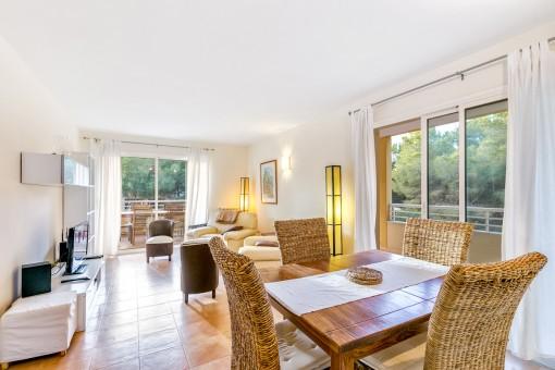 Schöne Penthouse-Wohnung im Herzen von Cala Ratjada