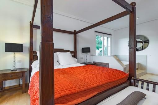 Fantastisches Hauptschlafzimmer