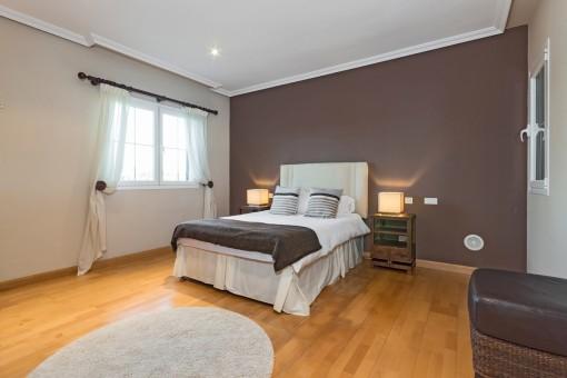 Die Villa hat insgesamt 3 Doppelschlafzimmer