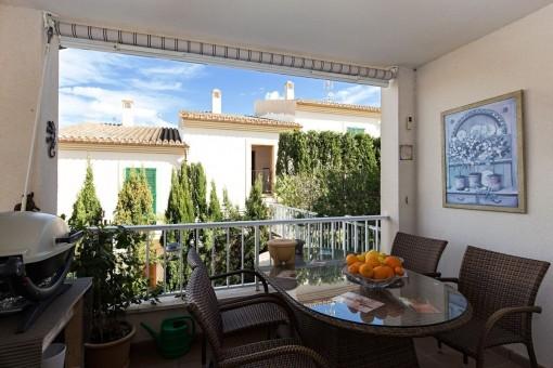 Schöne Wohnung in kleiner Gemeinschaftsanlage Costa de Canyamel