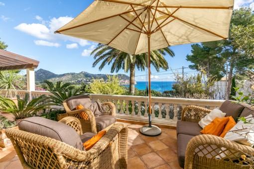 Hübsche Villa in Canyamelmit fantastischem Meerblick
