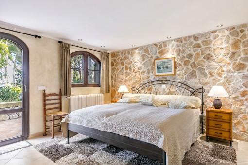 Schönes Gästeschlafzimmer
