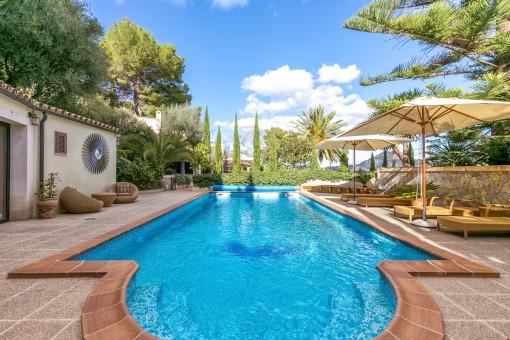 Fantastische Villa mit sensationellen Meerblick in Costa Canyamel