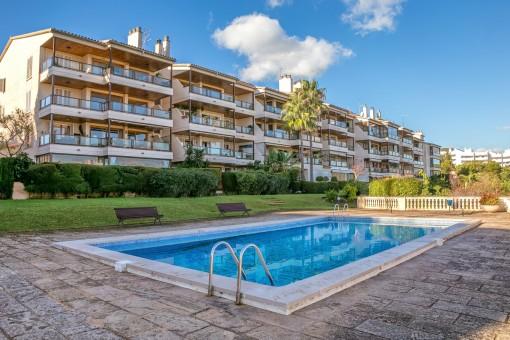 Schöne, geräumige Wohnung mit fabelhaftem Blick in Bonanova