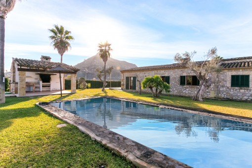 Bezaubernde Villa im Landhausstil mit eigenem Pool in Alcúdia
