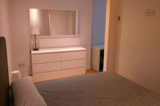 Das Apartment bietet 2 Schlafzimmer
