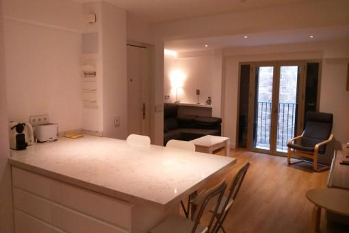 Renovierte und modern möblierte Wohnung in Palmas Zentrum