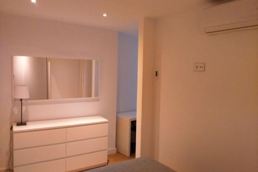 Das schöne Apartment wurde renoviert
