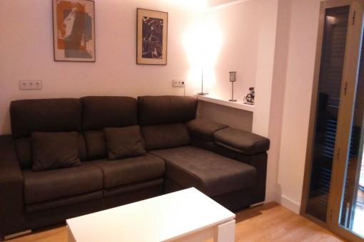 Bequemes Sofa zum Entspannen