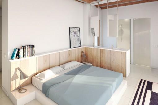 Das Apartment bietet 3 Schlafzimmer