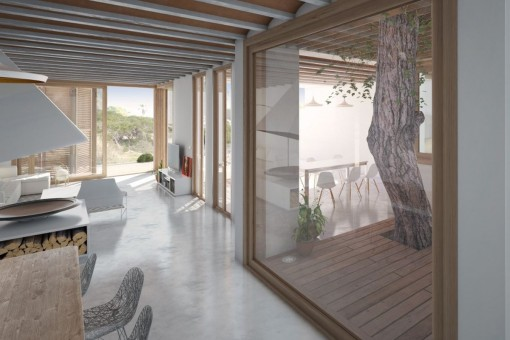 Apartment im Erdgeschoss