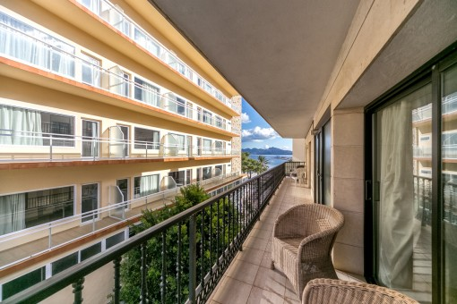 Traumhaftes Apartment mit Meerblick in bester Lage