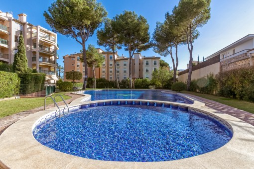 Helle, moderne Wohnung im Herzen der Playa de Palma