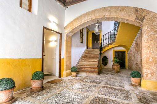 Exklusives Duplex-Apartment in bester Altstadtlage in Palma