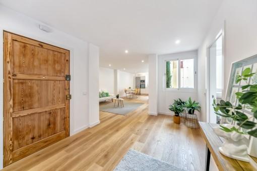 Helles und kürzlich renoviertes Apartment mit offenem Raumkonzept im Herzen der Altstadt
