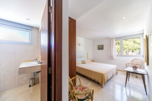 Zugang zum Badezimmer