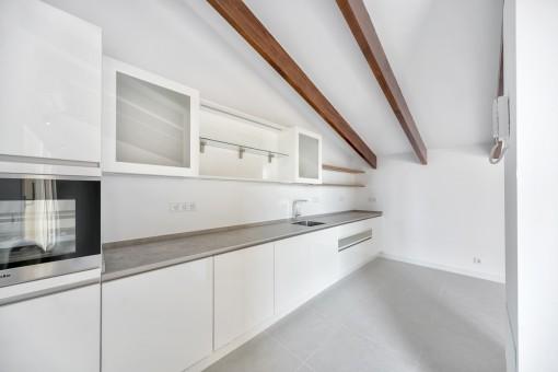 Küche im oberen Stockwerk