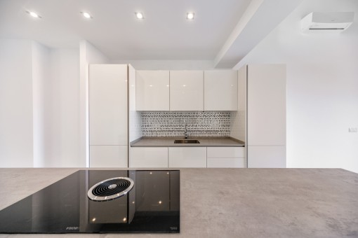 Alternantive Ansicht der Küche