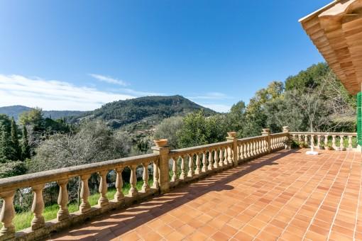 Großes Haus mit schöner Aussicht über Valldemossa