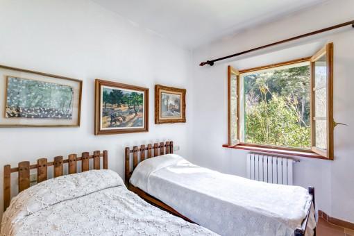 Gästezimmer mit 2 separaten Betten