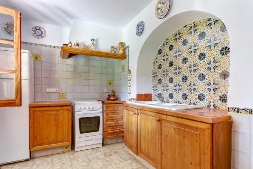 Zweite Küche der Finca