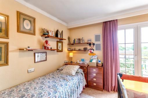 Gästeschlafzimmer der Villa