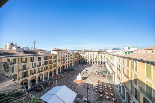 Exklusives Penthouse am Plaza Mayor, eine tolle Gelegenheit, um im Zentrum Palmas zu wohnen