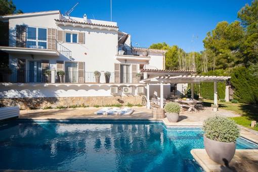 Schöne, gemütliche Villa mit Vermietlizenz in Costa de la Calma