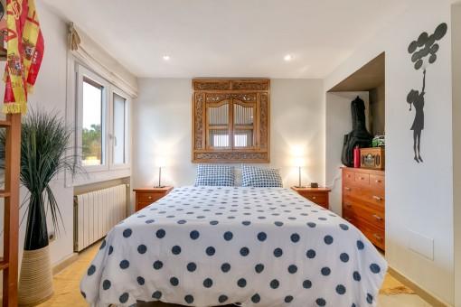 Herrliches Doppelschlafzimmer mit Heizung