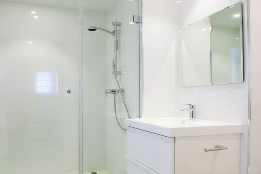 Das zweite Duschbadezimmer
