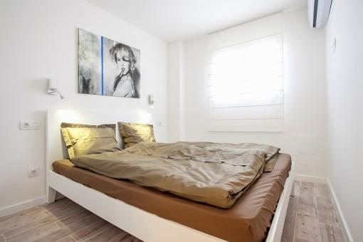 Das zweite Doppelschlafzimmer
