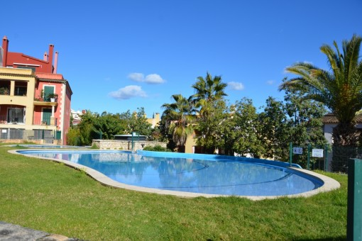 Im exklusiven Wohngebiet in Santa Ponsa  große modern eingerichtete Wohnung
