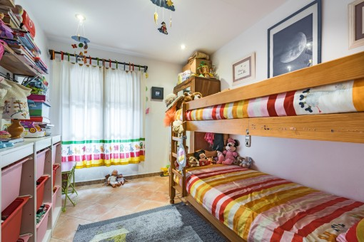 Wundervolle Kinderzimmer mit Hochbett