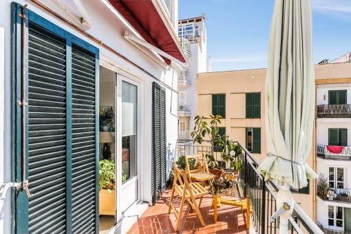 Sonnige 3-Schlafzimmer-Wohnung mit Südbalkon in Santa Catalina