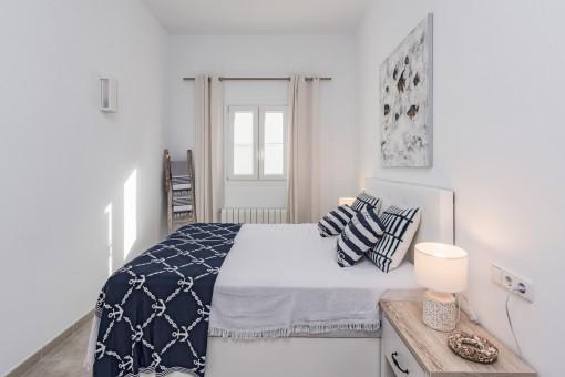 Wunderbares Doppelschlafzimmer mit Heizung
