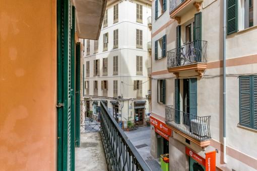 Toller mallorquinischer Balkon