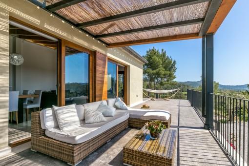 Fantastischer Loungebereich